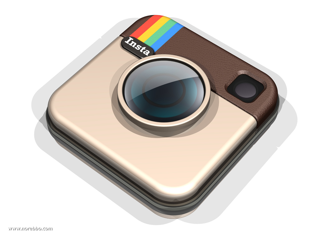 3d Instagram Icon